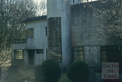 Kilowatt House, North Road, Bath, rear, 1 March 1974