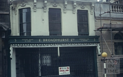 George Street, Bath 'E. Broadhurst Ltd.' April 1971