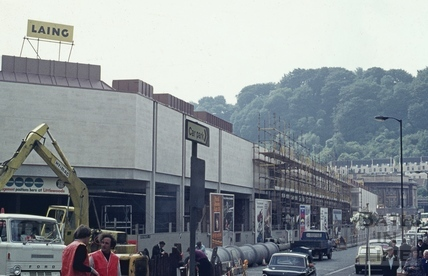 The Southgate Shopping Centre, rebuilt, 1973