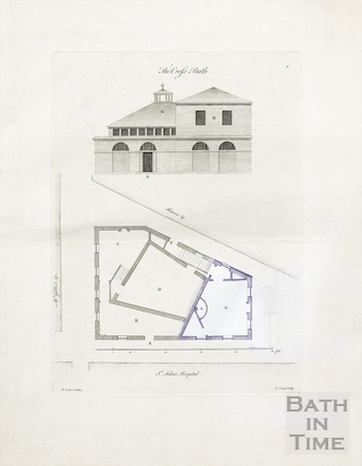 The Cross Bath (plan & section) c.1781