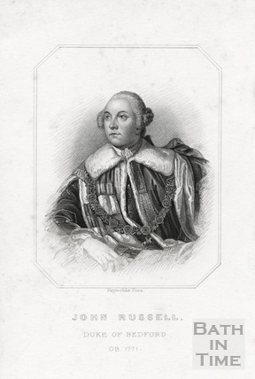 John Russell, Duke of Bedford OB 1771