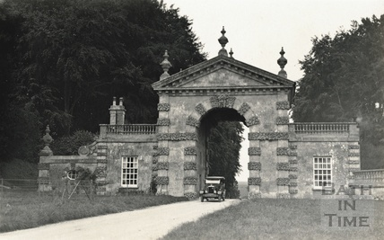 The entrance to Fonthill former home of William Beckford, Fonthill Gifford, Tisbury, c.1920s