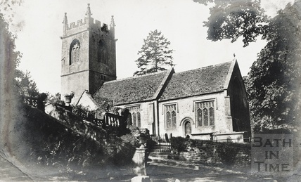 St Catherines Church, posted 1906