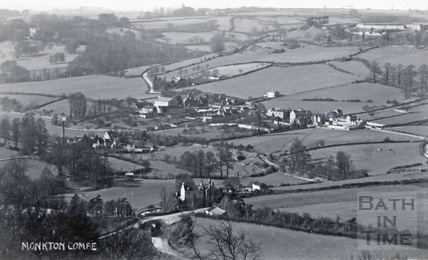View of Monkton Combe c.1906