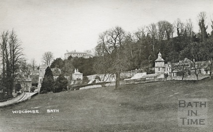 Widcombe Manor, viewed from the Dell c.1920