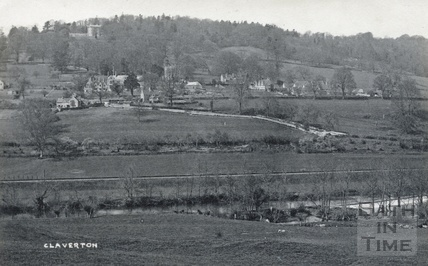 View of Claverton across the Kennet and Avon Canal c.1910