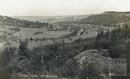 View from Conkwell, posted 1910
