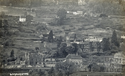 View of Limpley Stoke c.1920