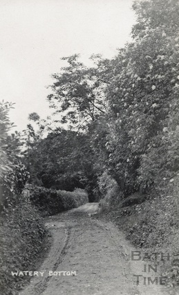Watery Bottom, below Greenway lane, Bath c.1910