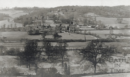 Distant view of Claverton and Claverton Manor c.1910