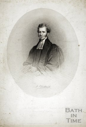 Portrait of William J. Brodrick, the late Rector of Bath 1855