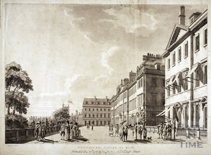 The South Parade, Bath 1784