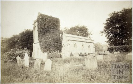 Kelston Church c.1865