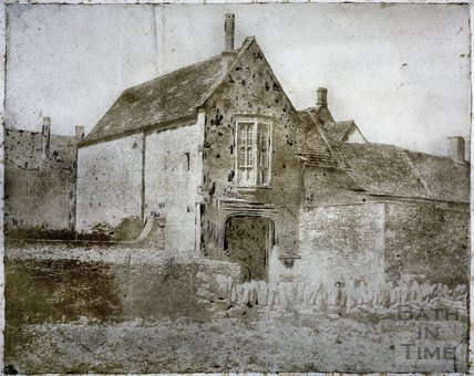 The Gatehouse, South Wraxall Manor c.1855
