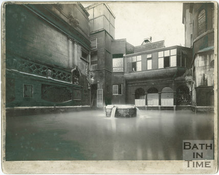 King's Bath, Bath March 1926