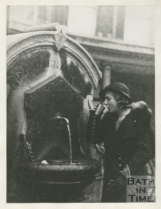 Mineral Water Fountain, Stall Street, Bath c.1930