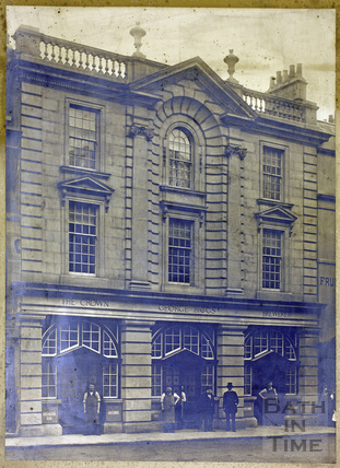 The Crown Brewery, 3 & 4, New Orchard Street, Bath c.1901