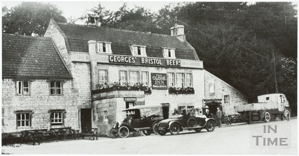 The Globe Inn, Newton St. Loe c.1930