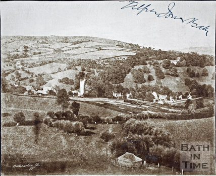 View of Northend, Batheaston from Little Solsbury 1860