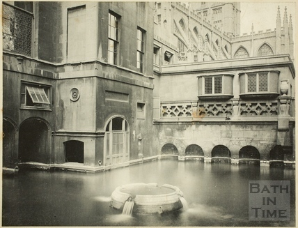 King's Bath and Mineral Spring, Bath c.1900