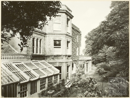 Rear view of Hampton Hall, Bathampton