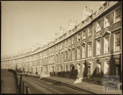 Paragon (Paragon Buildings), Bath c.1940
