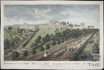 Prior Park, The Seat of Ralph Allen Esq. 1750