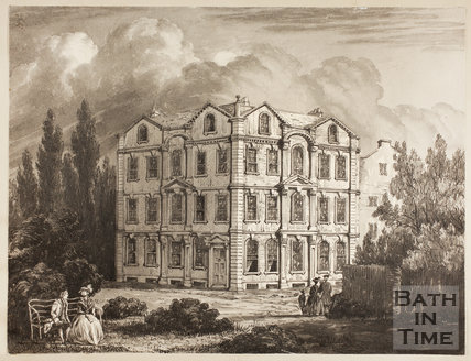 Weymouth House, Residence of the Lord Viscount Weymouth, Bath