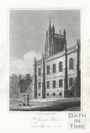 St. James's Church, Bath 1818
