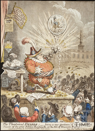 The Theatrical Bubble 1805