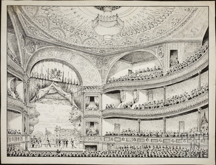 The Theatre Royal, Bath 1869