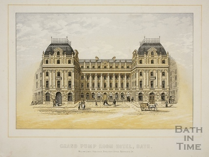 Grand Pump Room Hotel, Bath c.1869