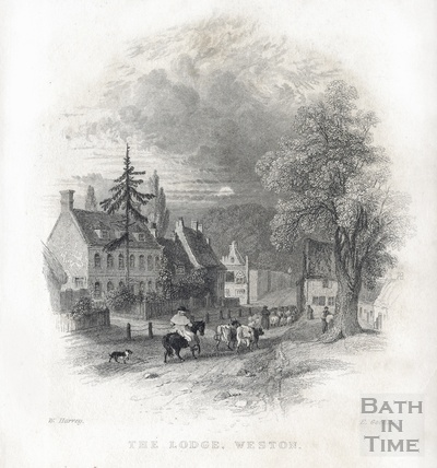 The Lodge, Weston 1836