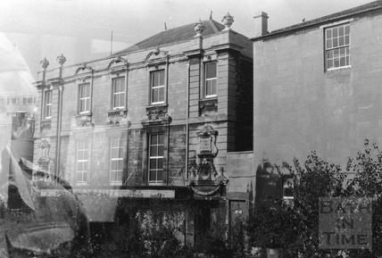 St Paul's church house, now occupied by the Egg Theatre, viewed from St Johns Place 1960s