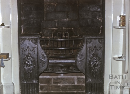 Fireplace, Gothic Cottage, Sion Hill, 1974