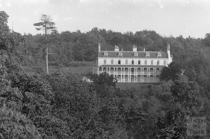 Mendip Lodge, Langford c.1935 - detail