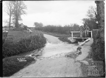 The Bridge and ford, Langford, Somerset c. 1935