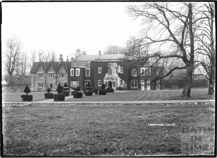 Langford Court, Langford, Somerset 9 March 1939