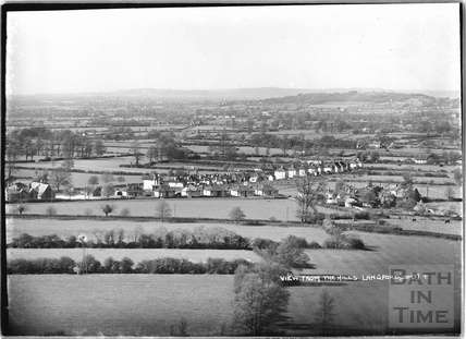 View from the hills of Langford, Somerset No.4 9 March 1939