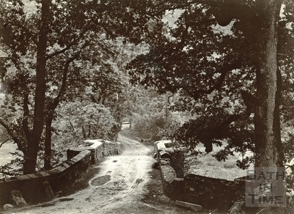 Unknown river bridge, 1892
