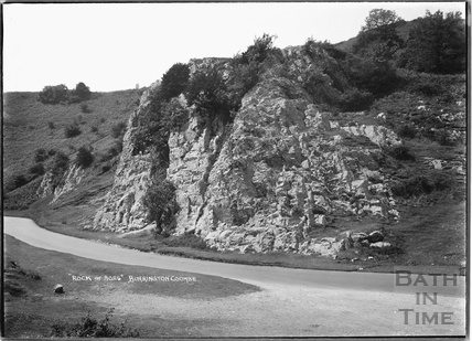The Rock of Ages, Burrington Combe, Somerset 1934