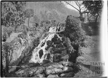 The Waterfall, Rickford, Somerset March 1935
