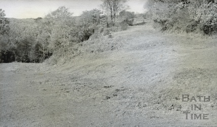 Traces of the canal at Edford c.1950s