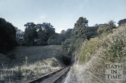 Combe Down tunnel (southern portal) October 1967