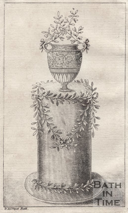 The Batheaston Vase, adorned in myrtle 1775