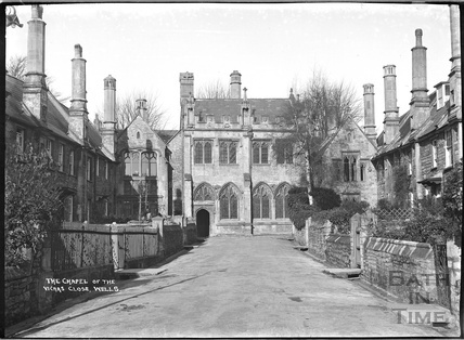 The Chapel of the Vicar's Close, Wells, c.1930s