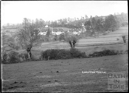 General View, Compton Martin, Chew Valley, Somerset c.1930s