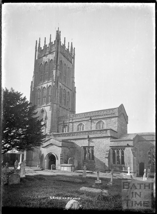 St Giles's Church, Leigh on Mendip, Somerset 28 June 1935