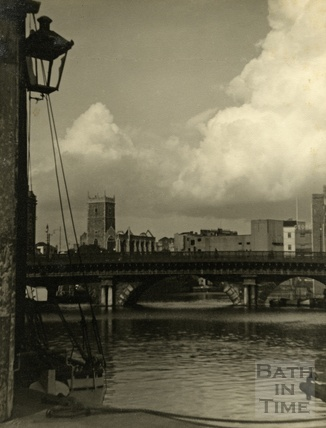 The Bristol Bridge, September 1952