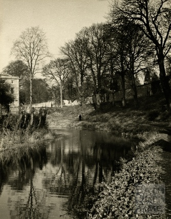 The Kennet and Avon Canal, Widcombe, Bath 1950s